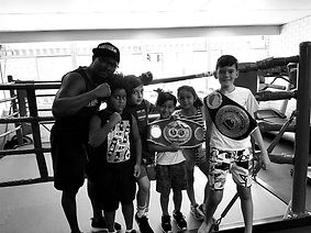 kids boxing class