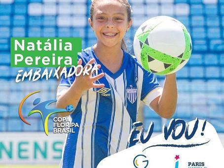 Copa Floripa Brasil terá Embaixadora na Europa