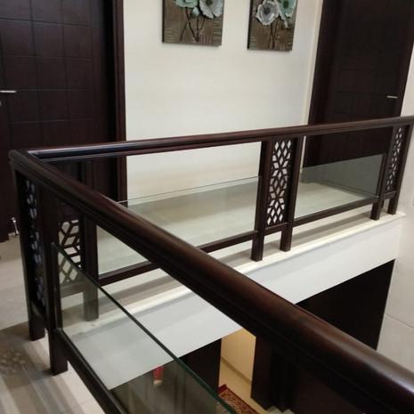 Elegant railing design