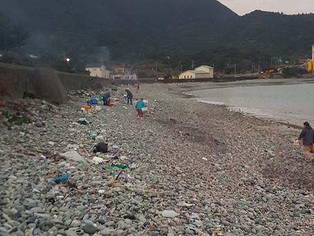 こしきの…人々 ✽海岸清掃✽