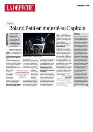 Roland Petit en majesté au Capitole