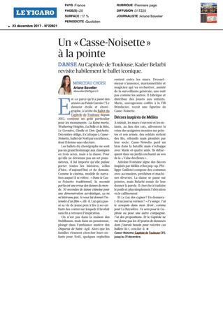 """Un """"Casse-Noisette"""" à la pointe"""
