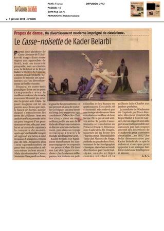 Le Casse-Noisette de Kader Belarbi, un divertissement moderne imprégné de classicisme