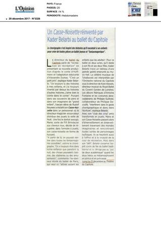 Un Casse-Noisette réinventé par Kader Belarbi au Ballet du Capitole