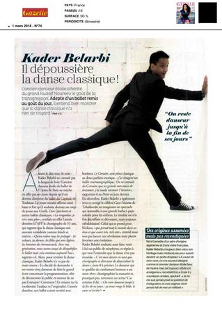 Kader Belarbi : Il dépoussière la danse classique!