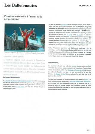 Corsaires toulousains à l'assaut de la nef parisienne