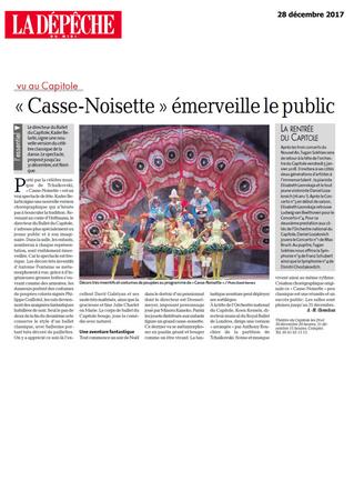 """""""Casse-Noisette"""" émerveille le public"""