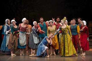 Empordà :  El ballet més romàntic emociona a l'Auditori Parc del Castell de Peralada