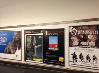De la Pub dans le métro parisien pour Le Corsaire