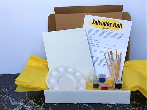 Salvador Dali Interpretive Dream Acrylic Painting