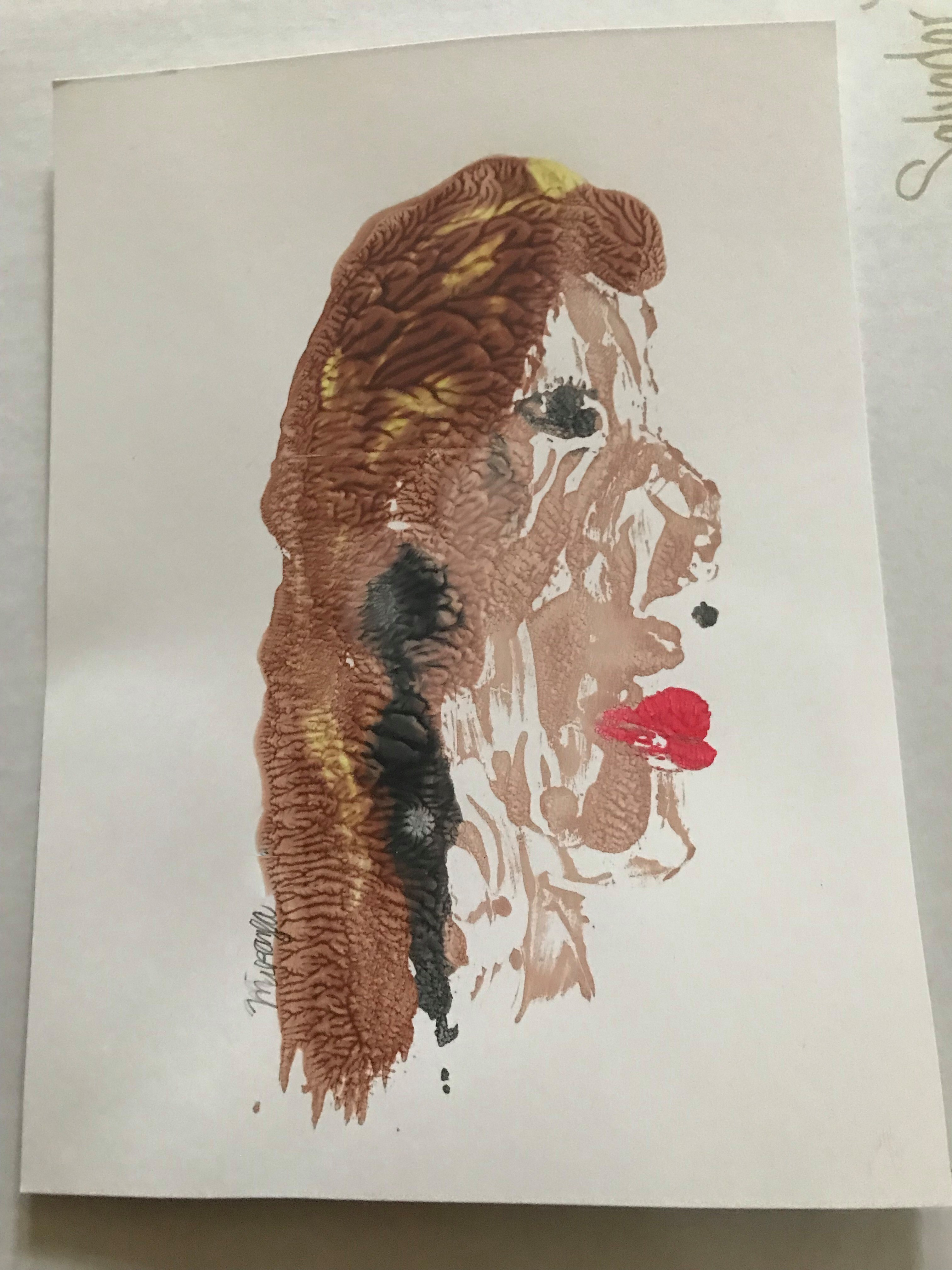 Mary Cassatt Monoprinting