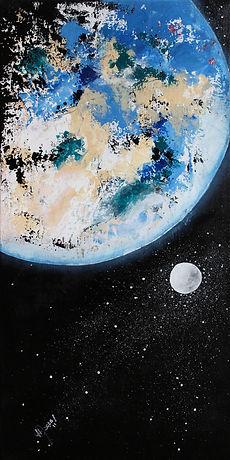 Planète Terre vue du ciel