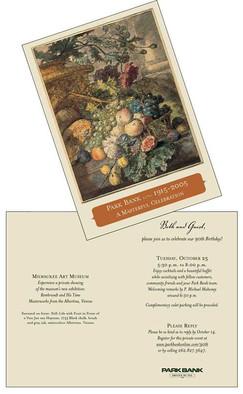 90th Anniversary Invitation Sample