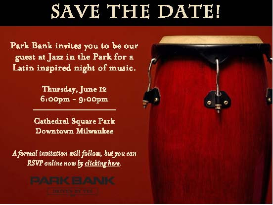 2008 Jazz In The Park Save Date