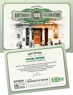 100th Anniversary Gala Save Date Sample