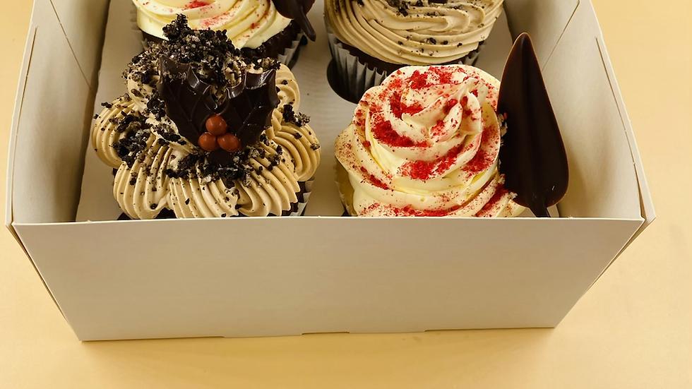 Gourmet Cupcakes - 4 pack
