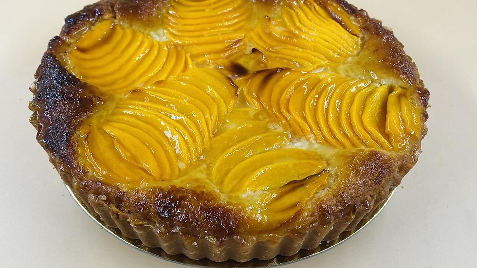 Peach & Frangipane Tart - 23 cm