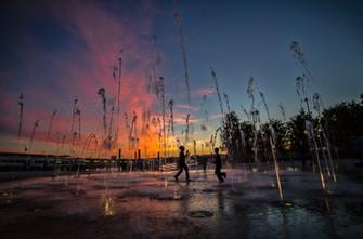 Sunset Hudson River