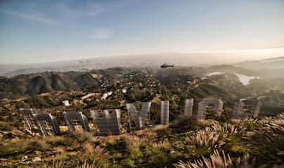 Hollywood shine