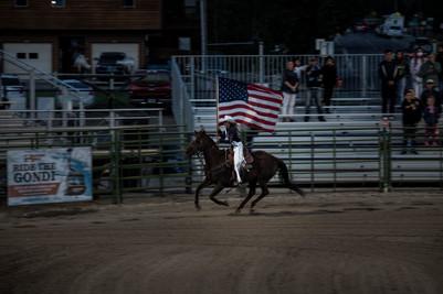 Rodeo ceremony