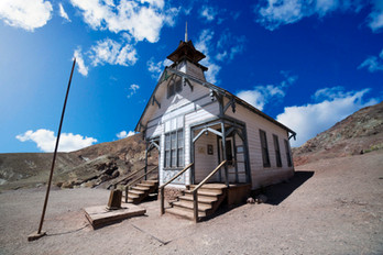 Old church in Calico