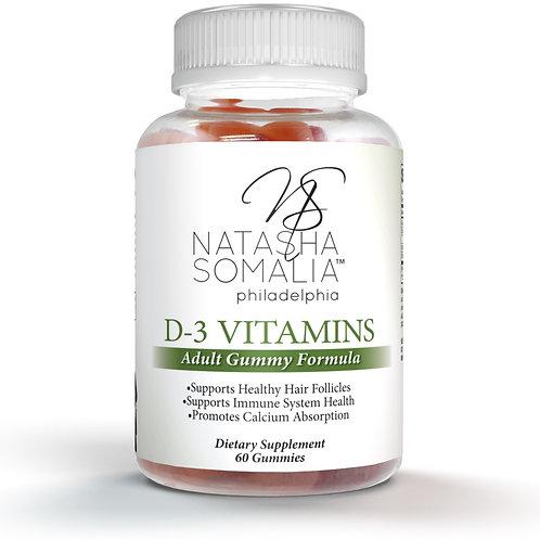 D-3 Vitamins (30 day supply)