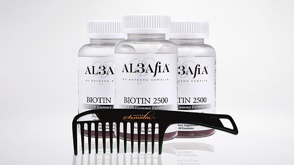 Al3afia Biotin 2500 (3 month supply)