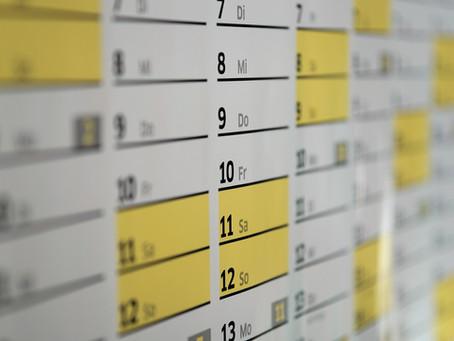 Unterlagen zur Schuljahresplanung online