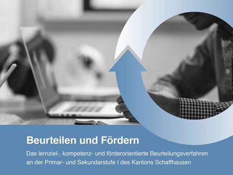 Beurteilen und Fördern: Neue Broschüre bestellbar