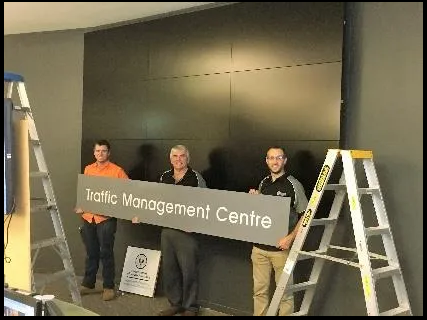 Optic Security Group upgrades the Traffic Management Centre