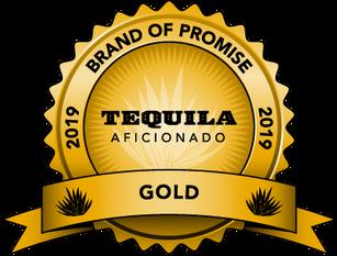 Tequila Aficionado Gold Metal Award to Yéyo Tequila