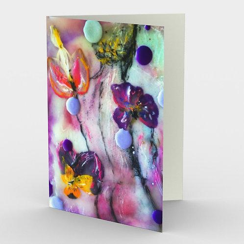 Purple Daze art cards