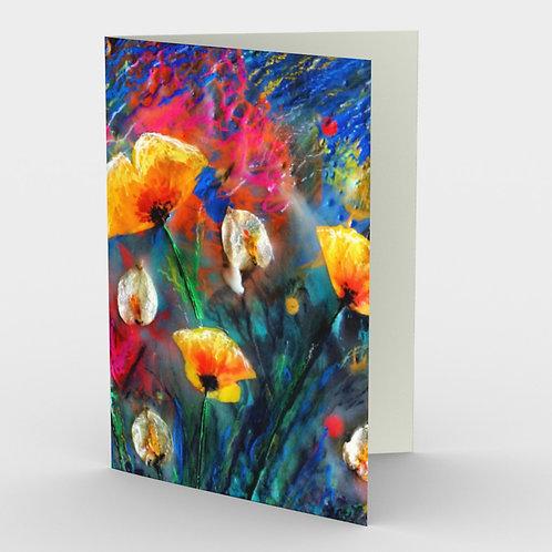 Nirvana Garden art cards