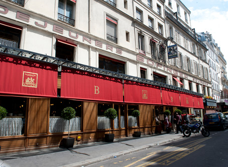 Our Favorite Restaurants in Paris: Part 3: 'The Brassierie Bofinger' in Paris