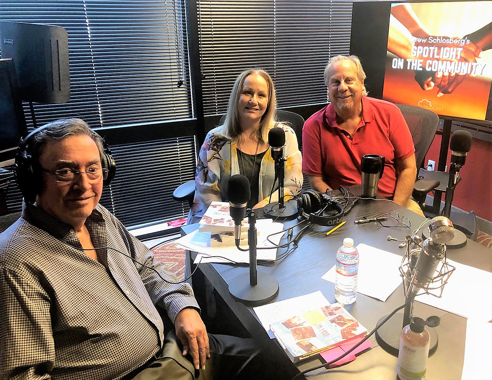Marshall & Debbie Hockett with Podcast Host Drew Schlosberg