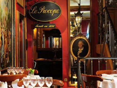Our Favorite Restaurants in Paris: Part 1! - Cafe Le Procope
