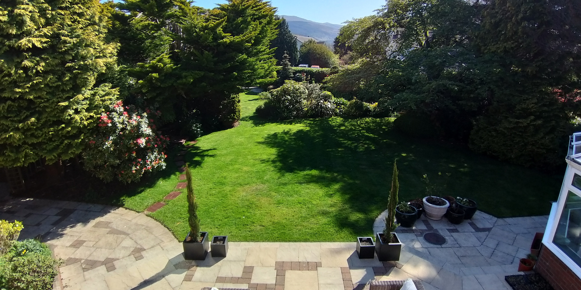 View from Snaefell Room