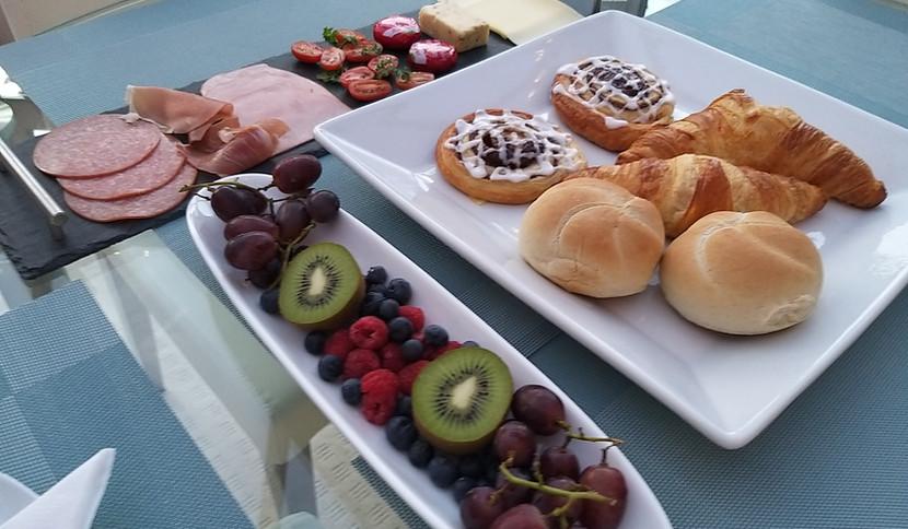Our award winning breakfast