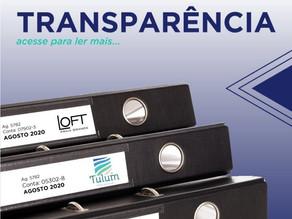 Transparência é o elemento fundamental