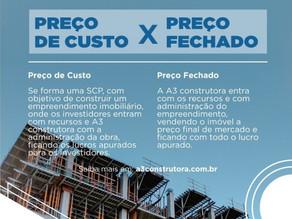 Diferença entre Construção a Preço de Custo e Preço Fechado