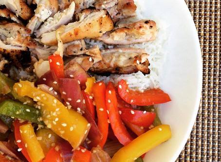 BBQ Teriyaki Chicken Fiesta