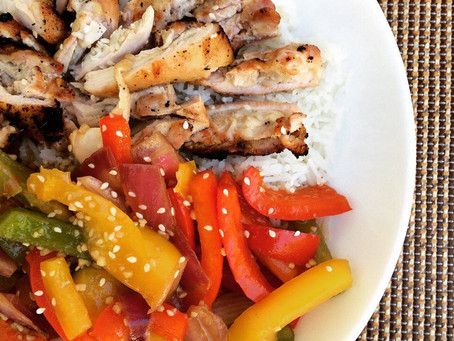 BBQ Teriyaki Chicken Fiesta