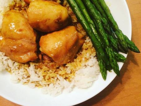 Curry Honey Chicken