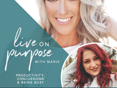 Episode 27: Productivity, Concussions & Being Busy with Brittany Loeser
