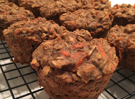 Carrot Breakfast Muffins