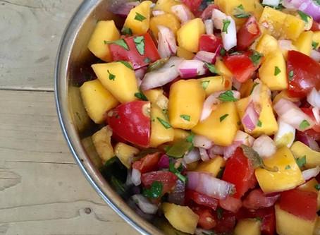 Summer Mango Jalapeno Salsa