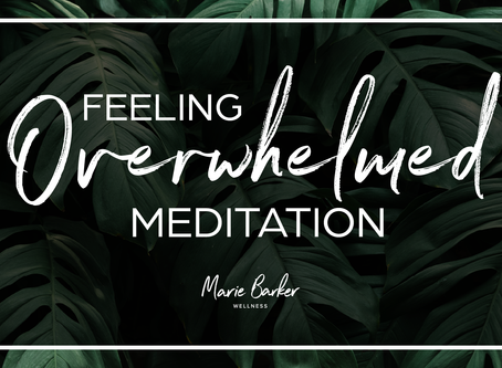 Episode 30: Feeling Overwhelmed Guided Meditation