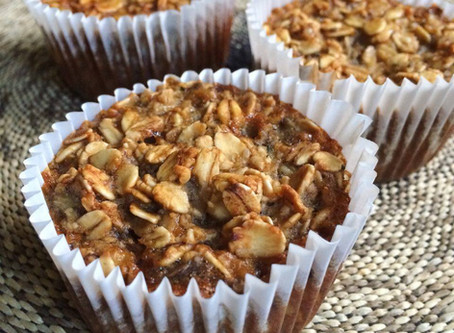 Maple Banana Oat Muffins