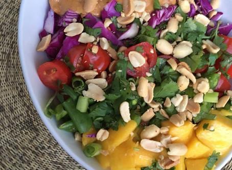 Thai Peanut Red Curry Buddha Bowl