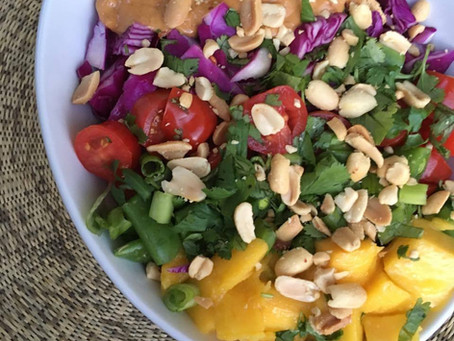 Thai Peanut Red Curry Buddha Bowl